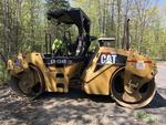 2005 Caterpillar Model CB534D XW roller