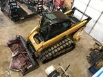 2015 Caterpillar 299D XPS Track Skid steer