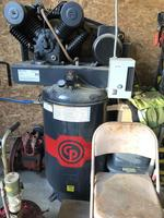 2016 Chicago Pneumatic air compressor, 7.5HP