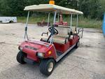 2009 CLUB CAR VILLAGER 6-PASSENGER GLOF CART, GAS Auction Photo