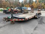2001 Contrail 2 axle Equipment trailer Auction Photo