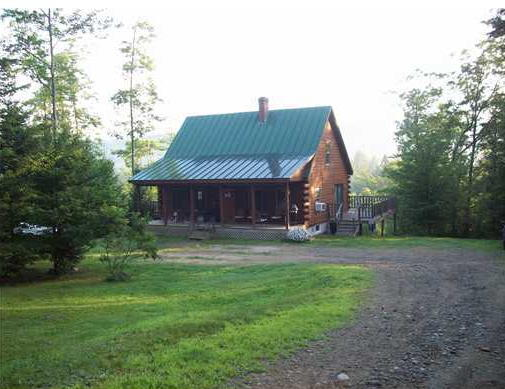 Log Cabin - 4.4+/- Acres - Views ~ Sugarloaf Region Auction