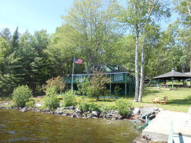 Lakefront Compound - Sebec Lake Auction