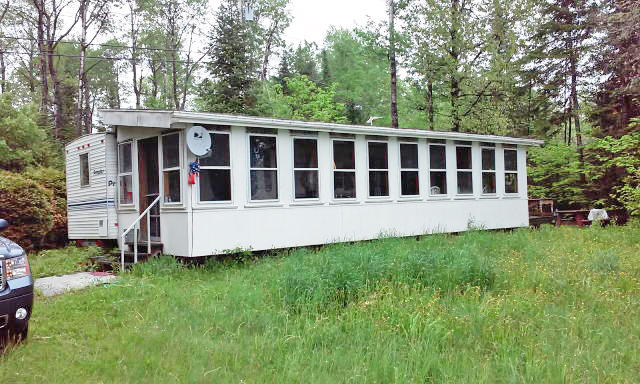 1.55+/- Acre Waterfront Lot - Travel Trailer - Long Lake Auction