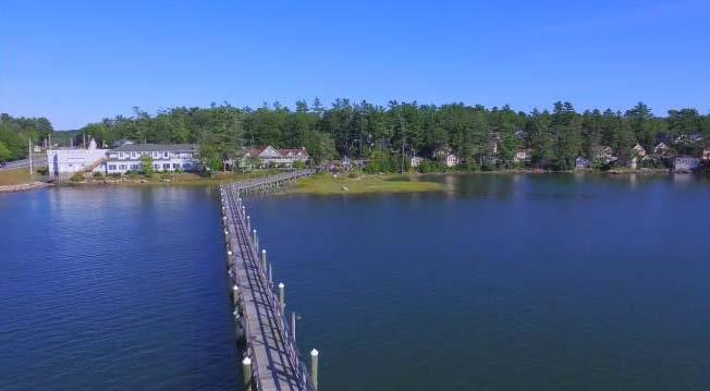 Waterfront Banquet & Function Facility ~ Sheepscot Harbour Village & Resort Auction