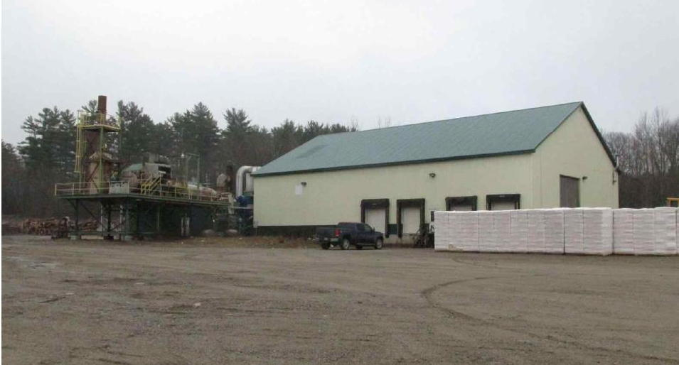 State-of-the-Art Pine Shavings Mill - Outbuildings  -  34+/- Acres - 2BR Gambrel Home/Office Auction