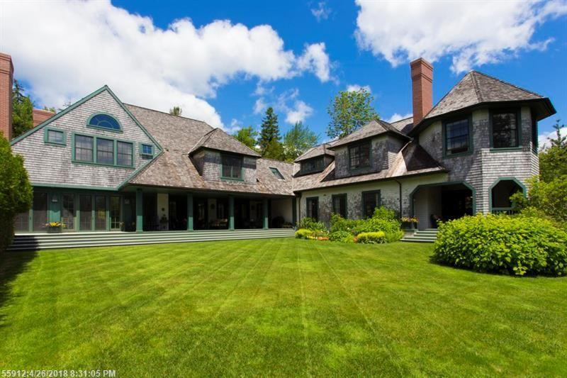 """Harbor Ledge"" 19-Room Shingled Estate Home • 8,134+/-SF Auction"