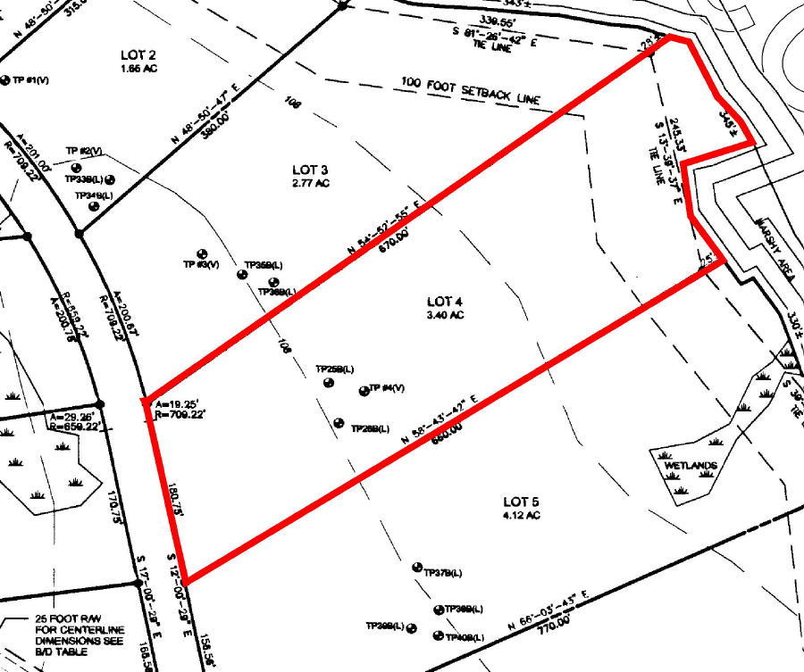 3.4+/- Acre Waterfront Parcel, Lot#4 Peaceful Point Rd., Waltham, Maine Auction